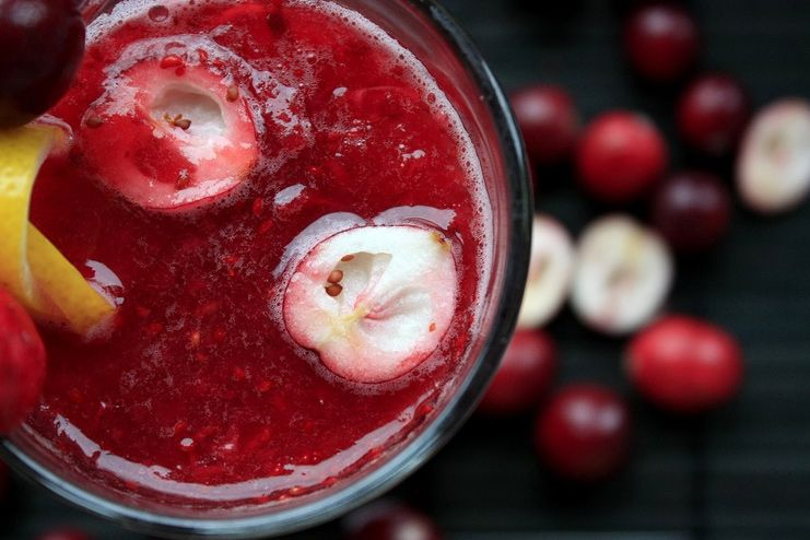 Cranberry Juice for Dehydration
