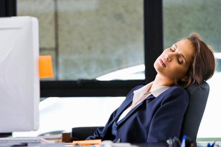 Lack of proper sleep
