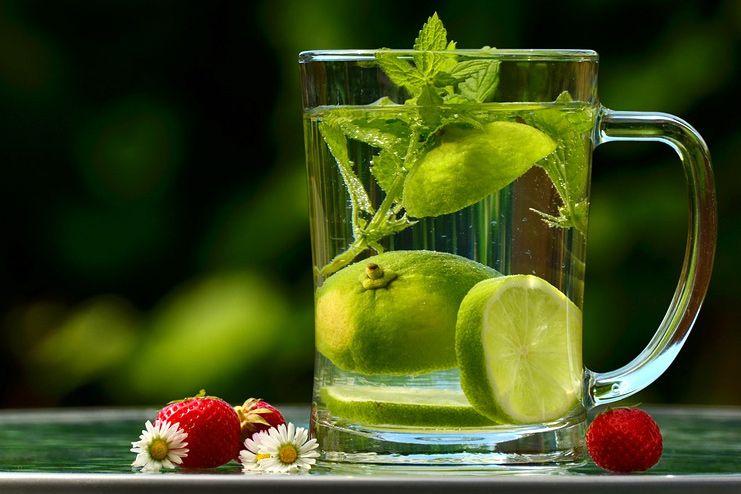 Lemon Water for Dehydration
