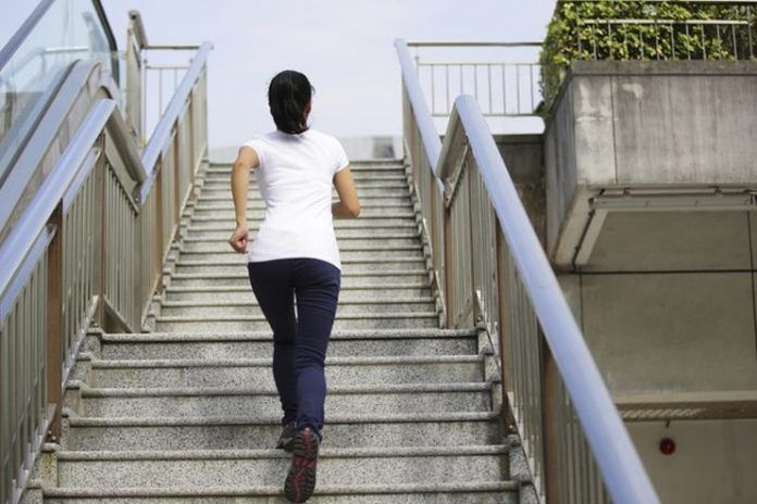 Take the stairs for a change