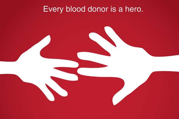 What are the benefits of donating blood