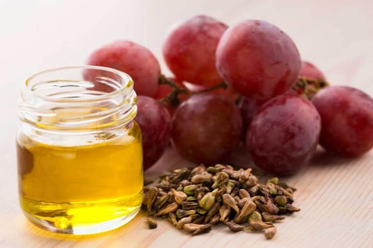 Castor Oil and Grapeseed Oil