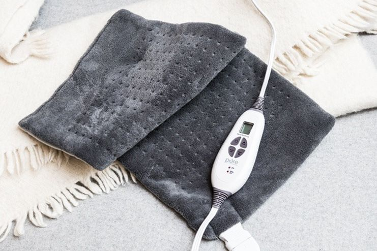 Castor Oil and Heating Pad