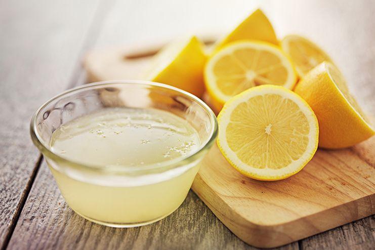 Castor Oil and Lemon Juice