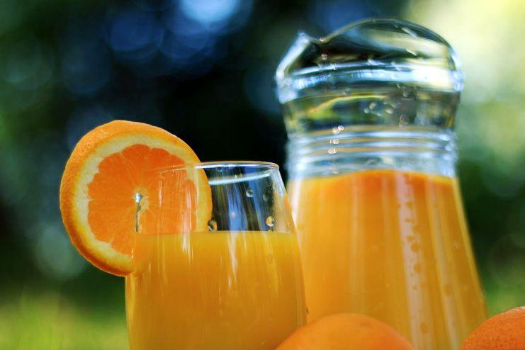 Castor Oil and Orange Juice
