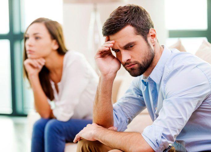Depression in relationship