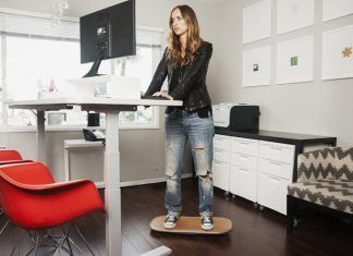 Health benefits of standing desk
