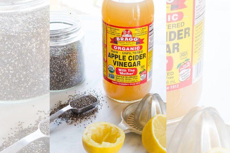 Lemon Juice and Apple Cider Vinegar