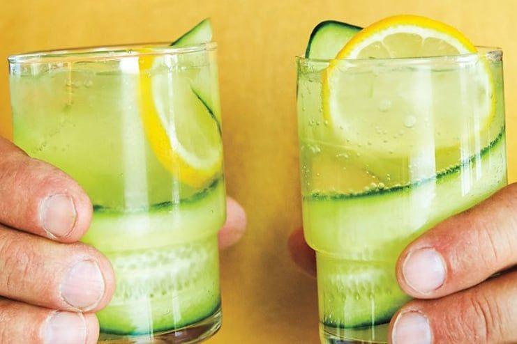 Lemon Juice and Cucumber