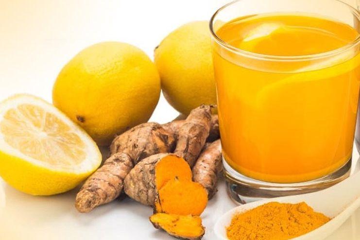 Lemon Juice and Turmeric