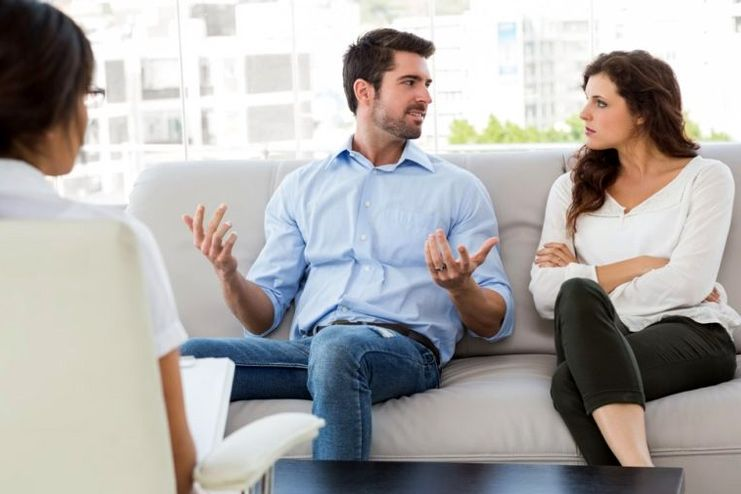 Talk to a relationship counselor