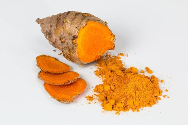Turmeric and Coconut Oil for Eczema