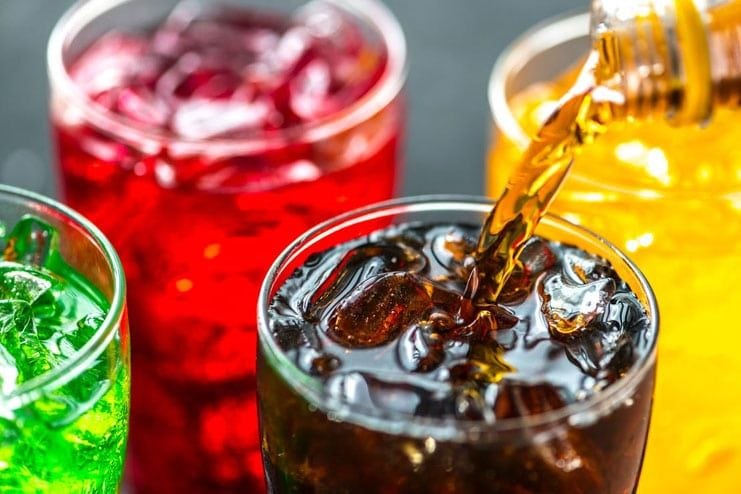 Ditch carbonated drinks