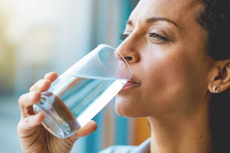 Drink one glass of water after waking up