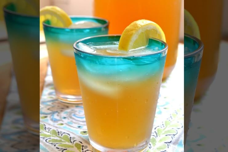 Iced Tea with Coconut Water