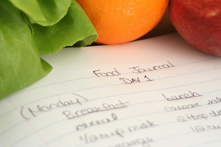 Maintain a food journal