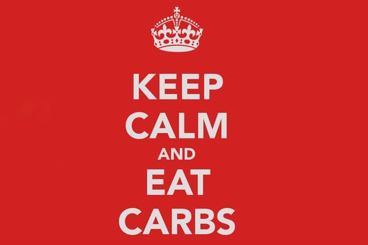 Consuming NO carbs
