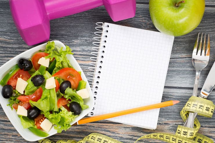 Jot down your daily diet and what you ate