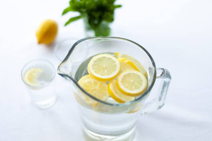 Lemon and Honey Water with Black Seed Oil