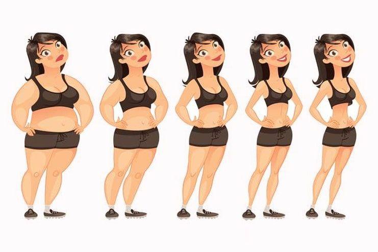 Lose weight gradually