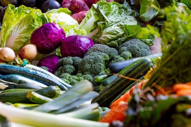 Not consuming veggies