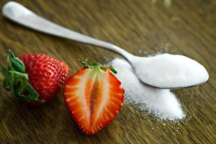 Sugar is also a form of carbohydrate