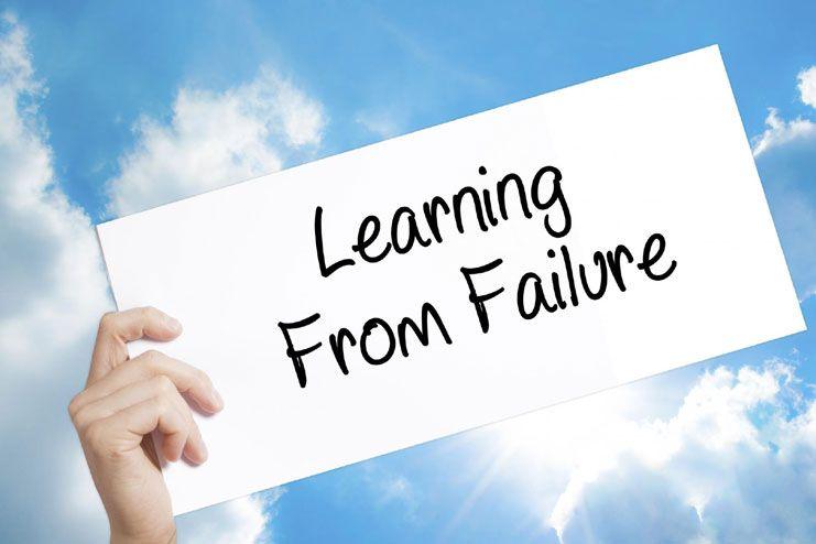 Accept failure sportingly