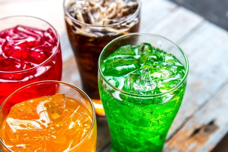 Beverages with sweeteners