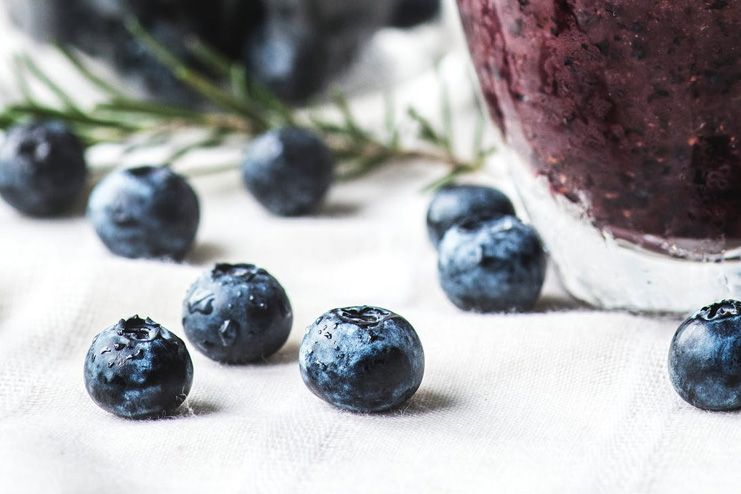 Blueberry-smoothies