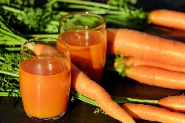 Carrot Juice for Dysentery