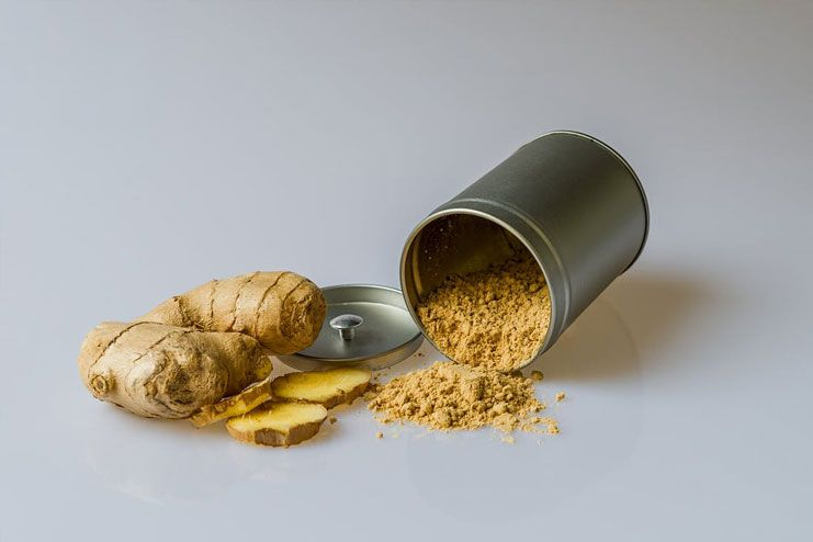 Dried Ginger Root for Dysentery