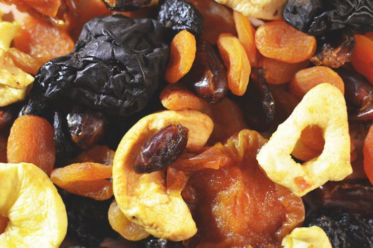 Dried fruit isn't your ally