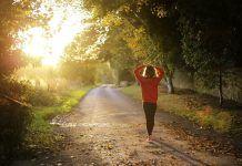 Walking during diabetes