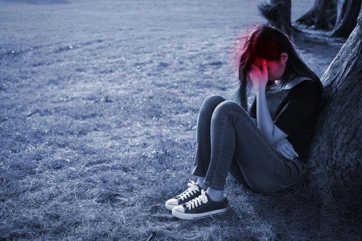 Depression blazes away