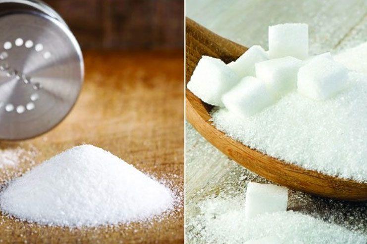 Reduce the salt and sugar