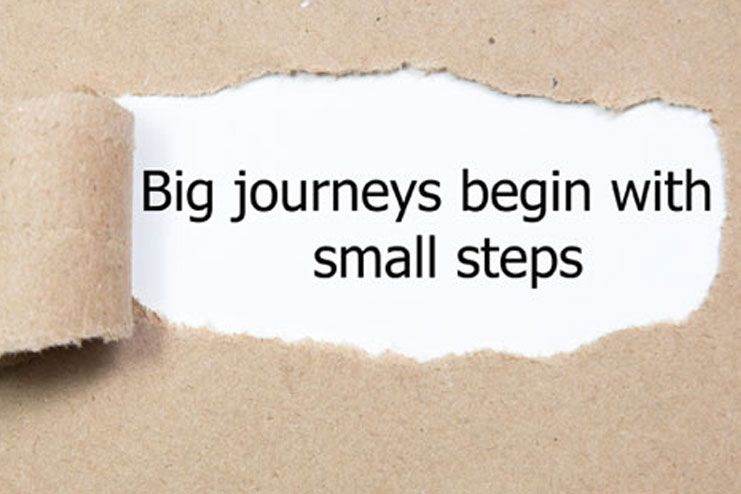Start with Small Steps