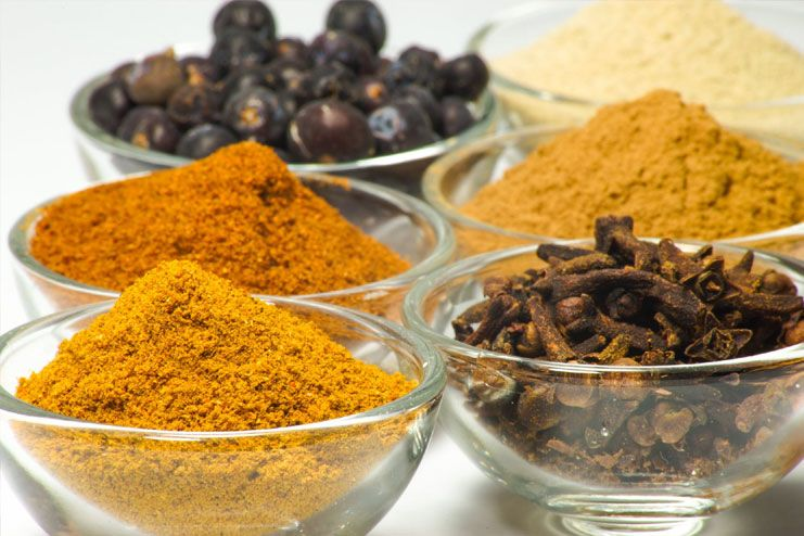 Opt for spices