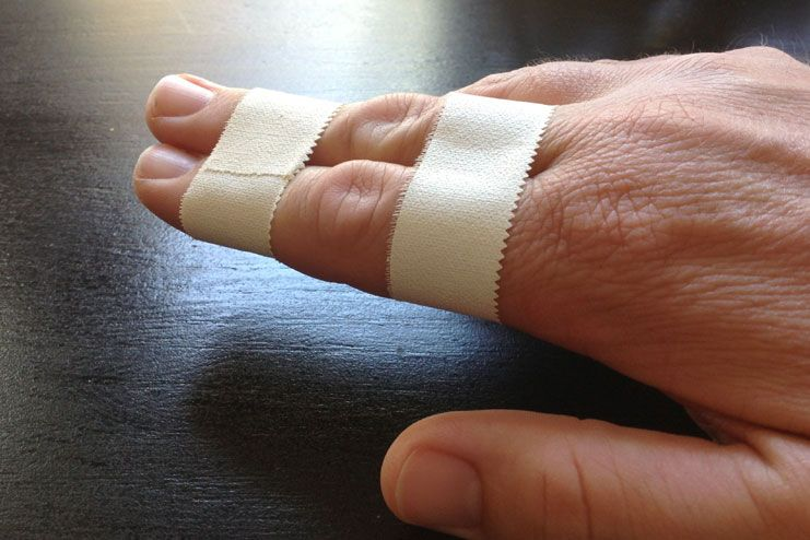 What To Do For A Jammed Finger