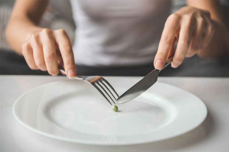 Reduced risks of eating disorders