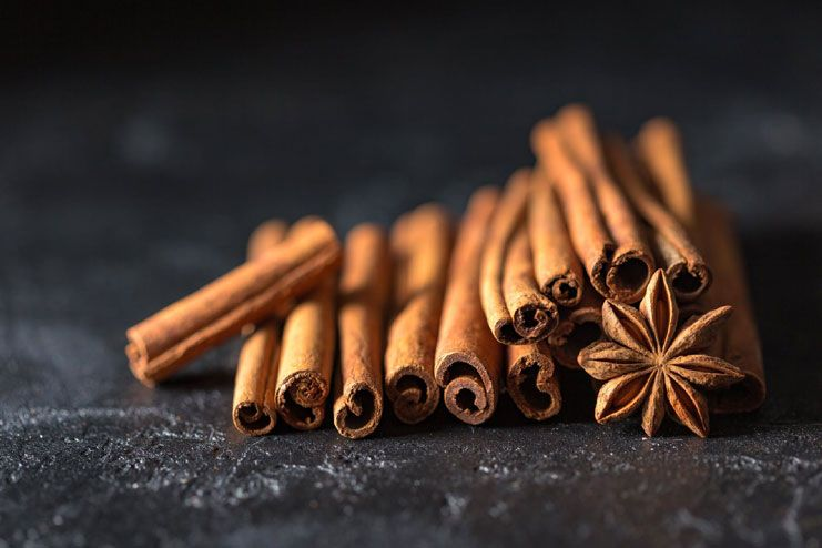 Add in more cinnamon