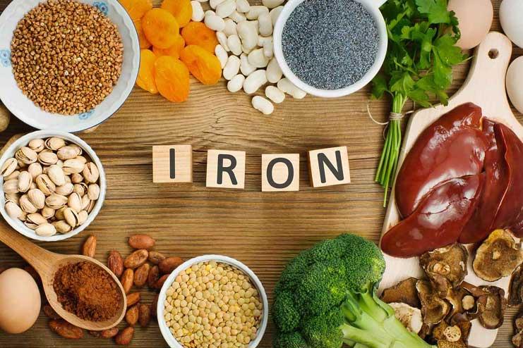 Increase the iron intake