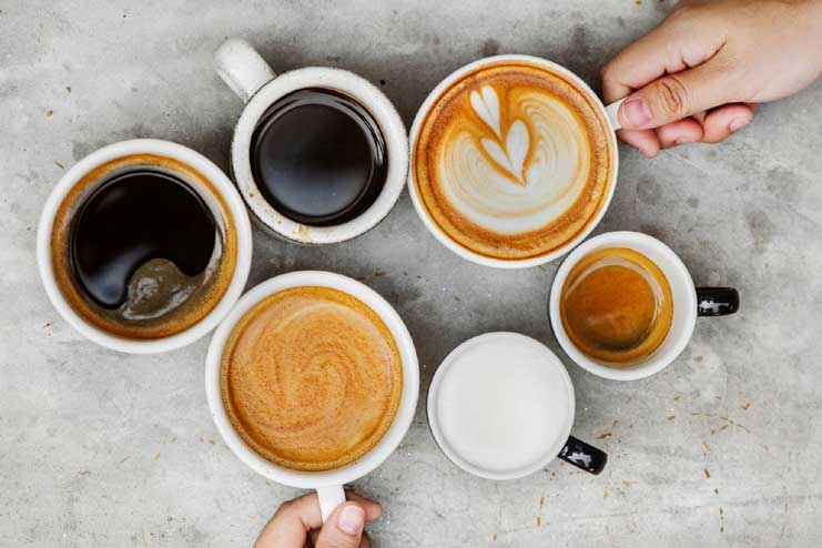 Manage the caffeine intake