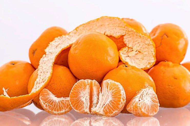 Orange and banana peels