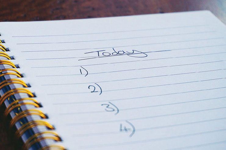 Procrastination resulting in incomplete tasks
