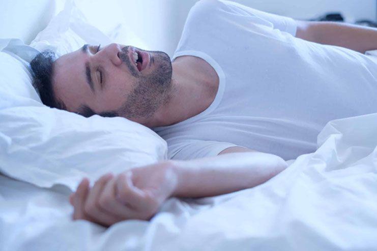 Suffering from Sleep Apnea