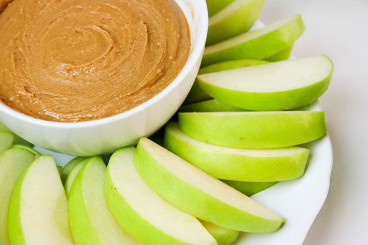 Apples and almond butter