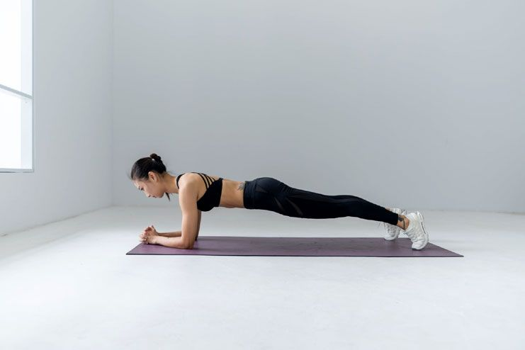 Exercises to get rid of underarm flab