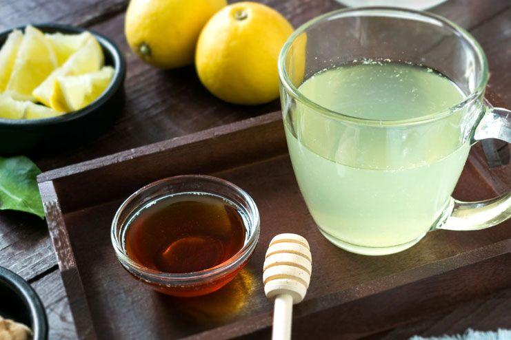 Ginger, honey and lemon