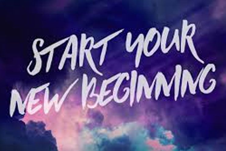 Its Never Too Late For A New Beginning