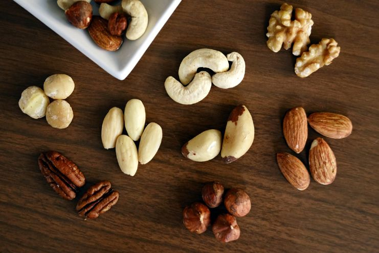 Nuts could be the culprit